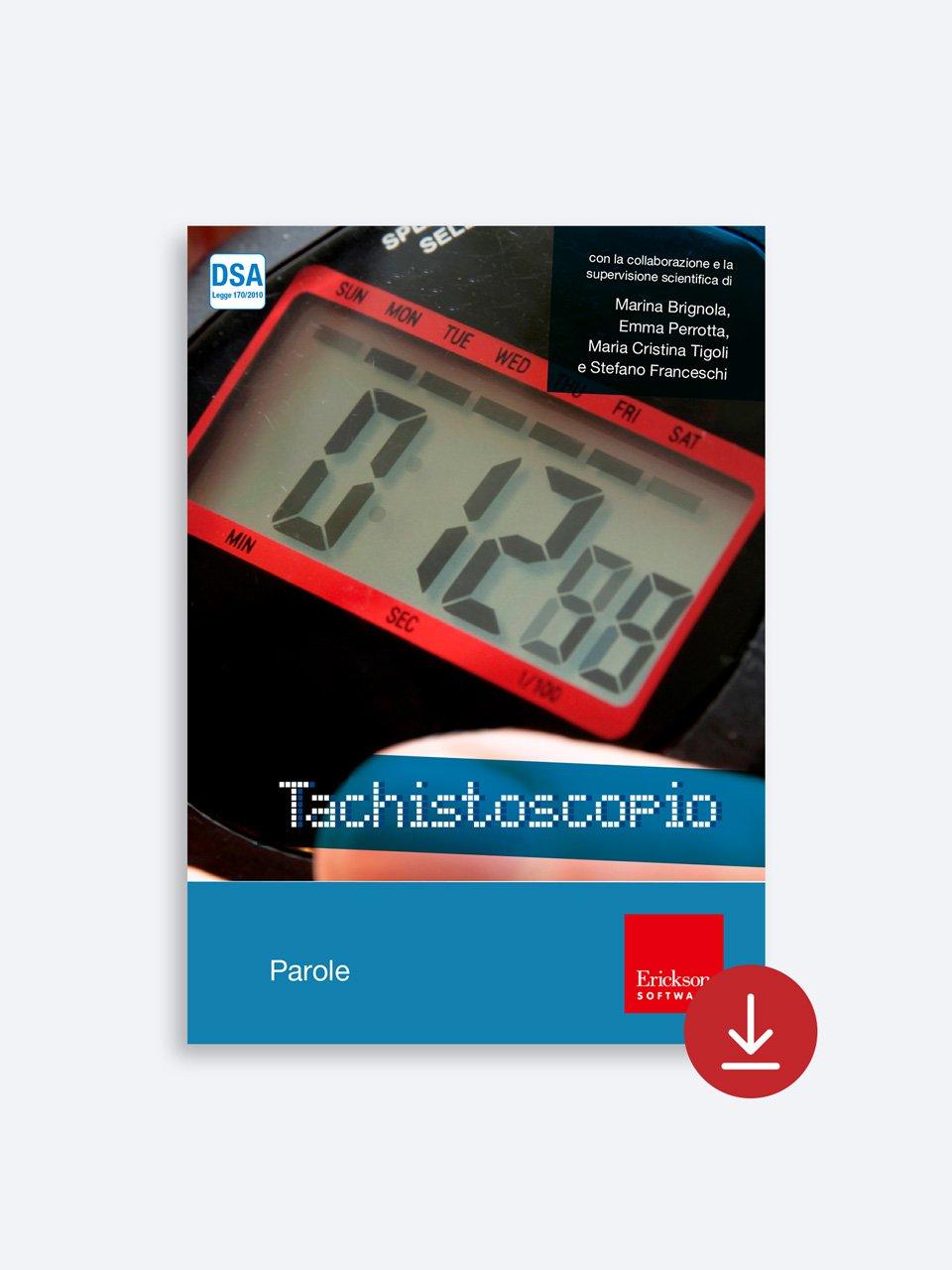 Tachistoscopio SUITE - App e software - Erickson 5