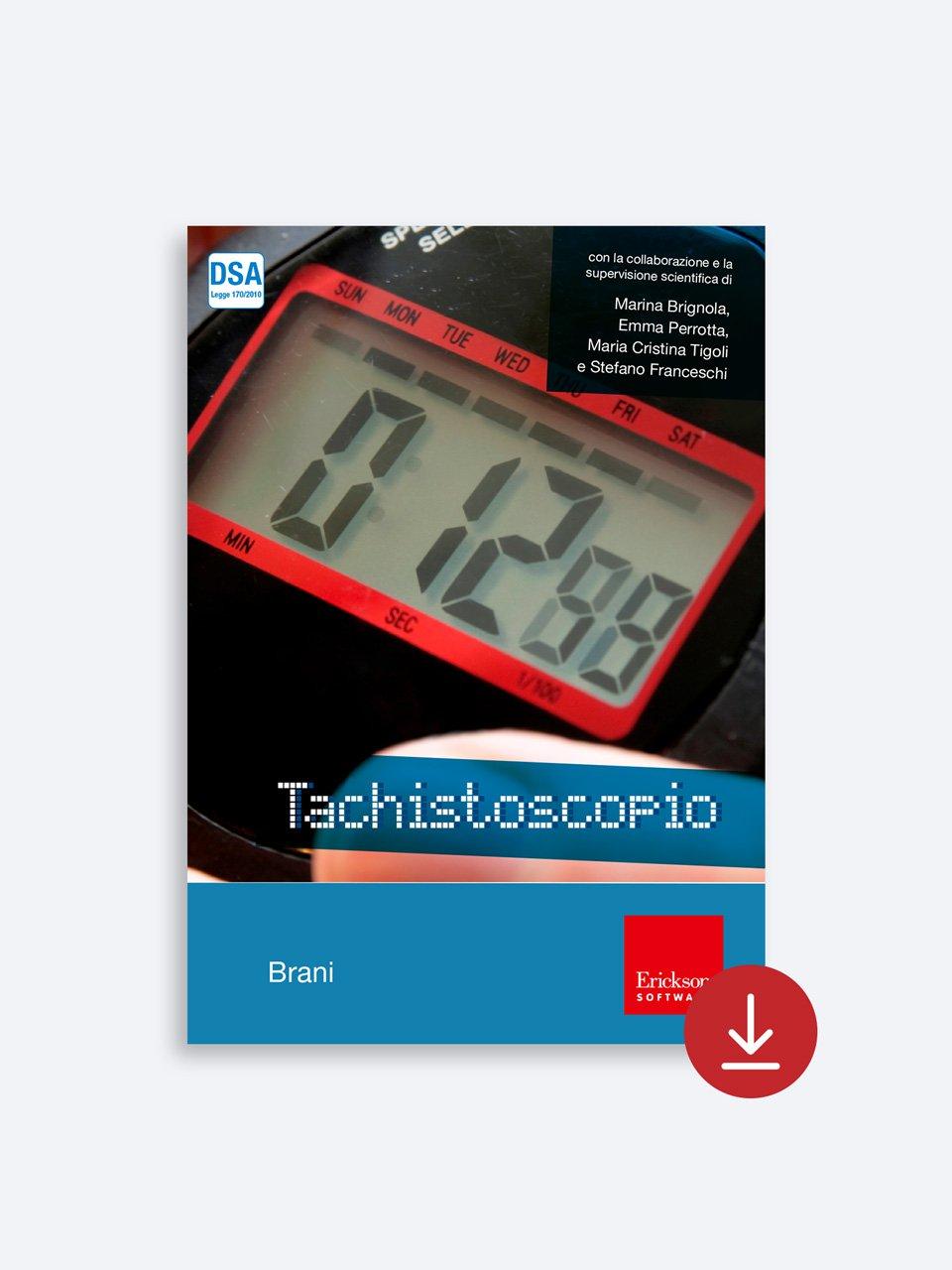 Tachistoscopio SUITE - App e software - Erickson 6