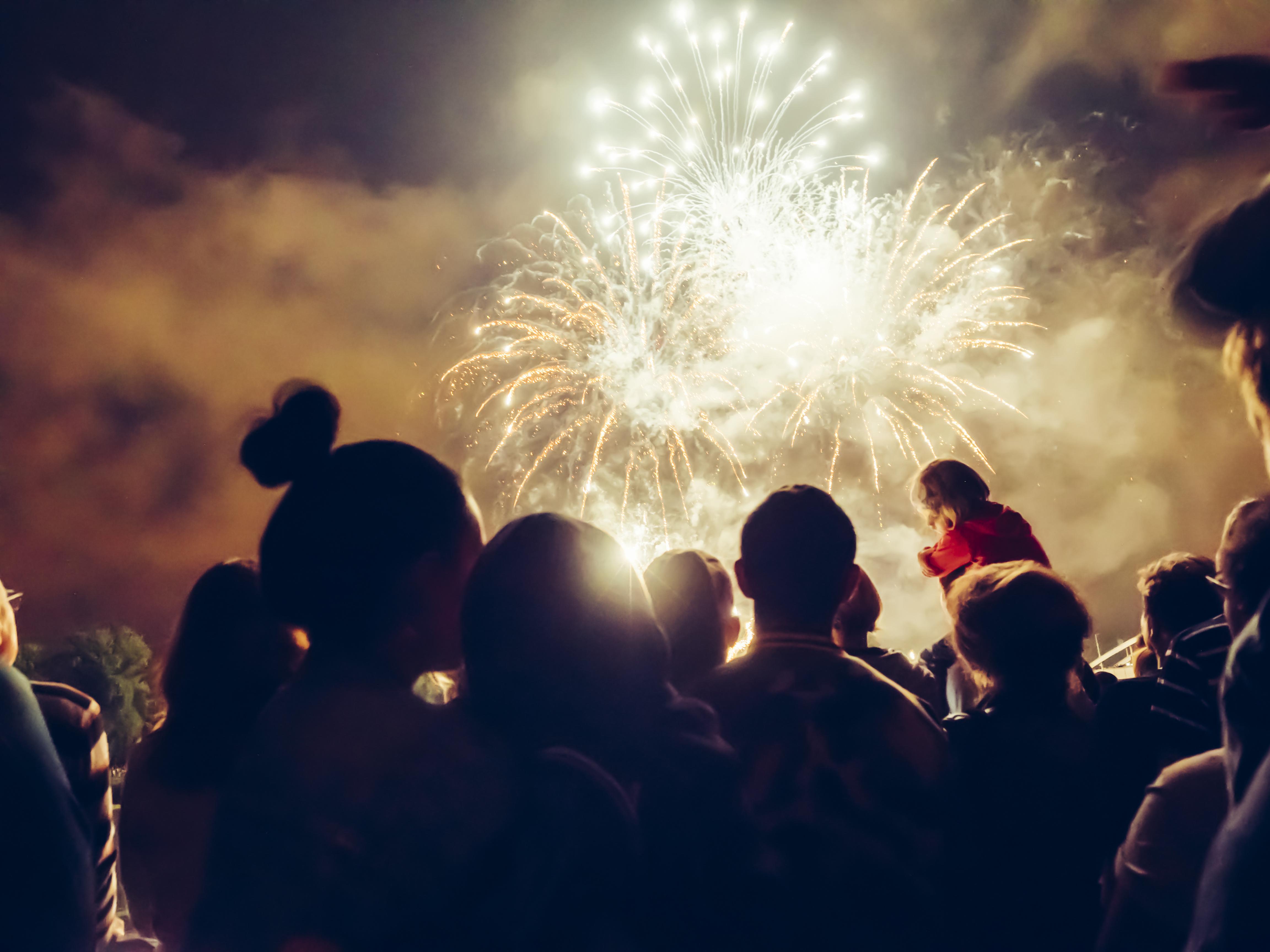 Bonfire Night Displays In The UK