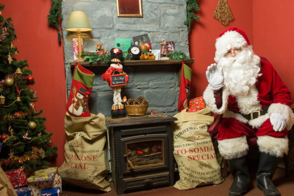 6 Beautiful Santa's Grotto's