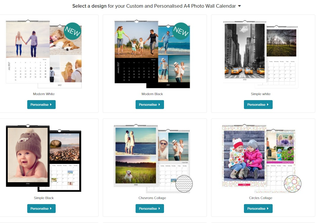 How To Create A Personalised Wall Calendar