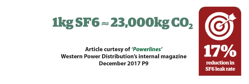 Article curtesy of 'Powerlines'  Western Power Distribution's internal magazine  December 2017 P9