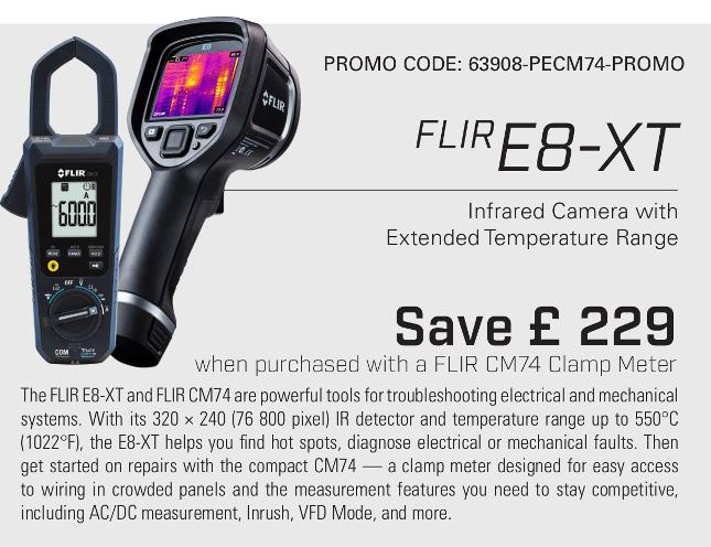 Flir E8-XT Promotions