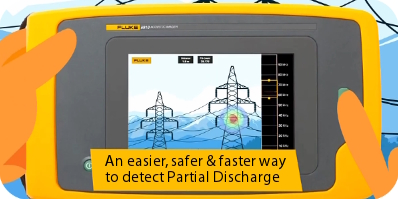 Easily detect Partial Discharge with the FLUKE ii910