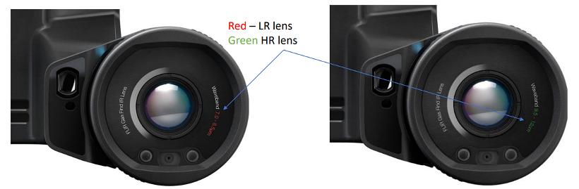 FLIR GF77 Colour Coded Lens