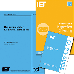 IET 18th Edition Blue Book and Guidance Notes 3 Book