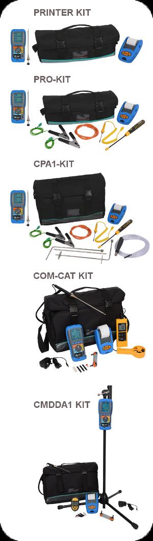 Kit options for the KANE 457