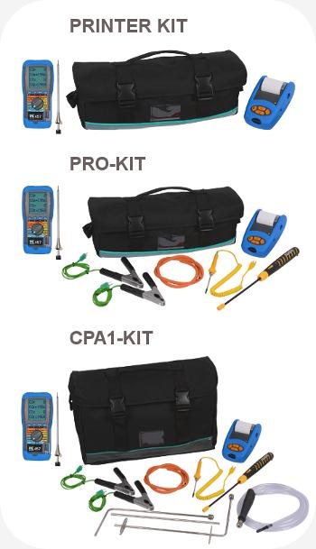 Kits for the KANE 458s Flue Gas Analyser