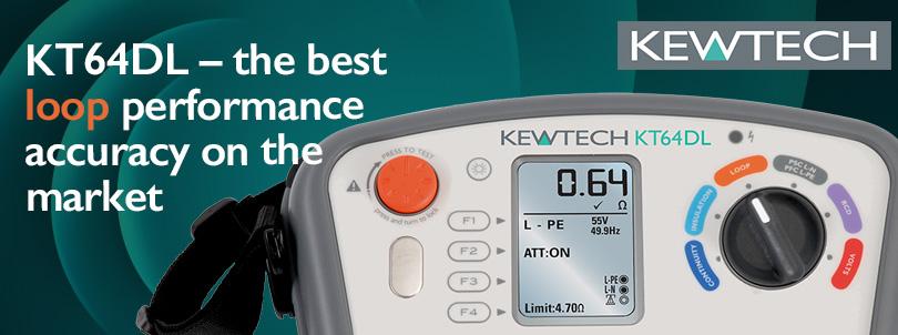 The Kewtech KT64DL MFT