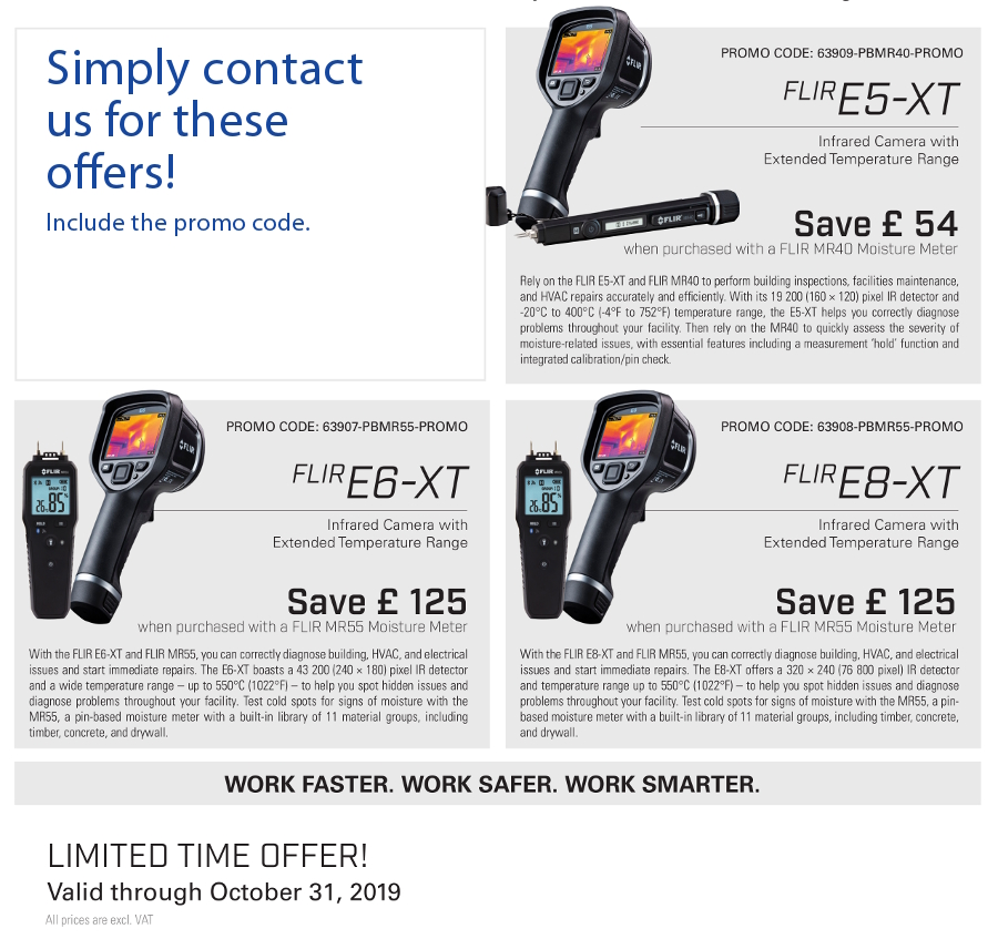 More Flir Building Test Tools Promotions