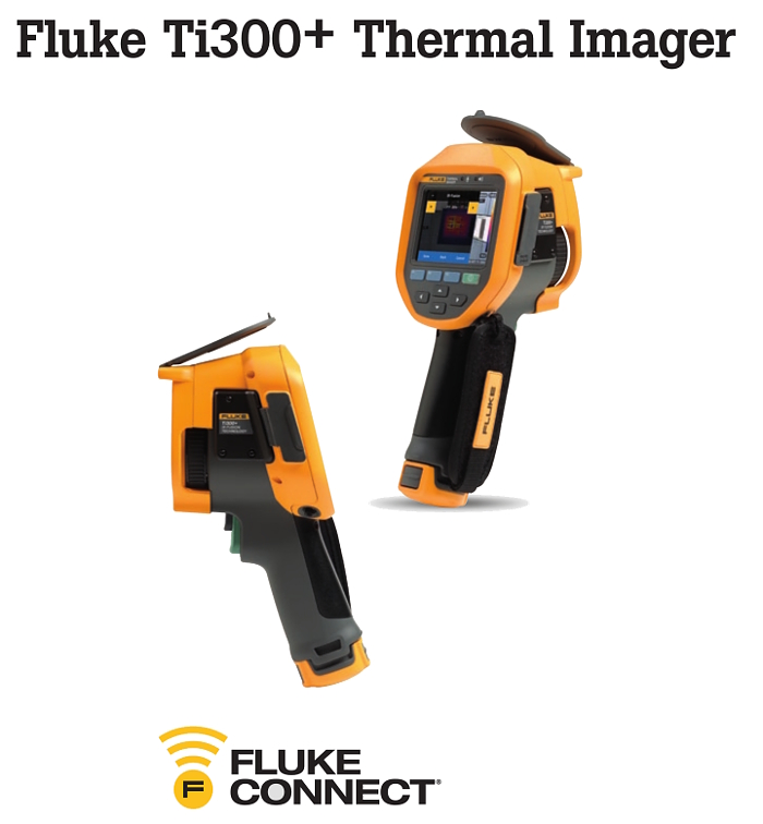 Fluke Ti300 Thermal Camera different angles