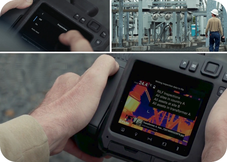 FLIR T865 Thermal Camera Inspection Route Perfect for power substations