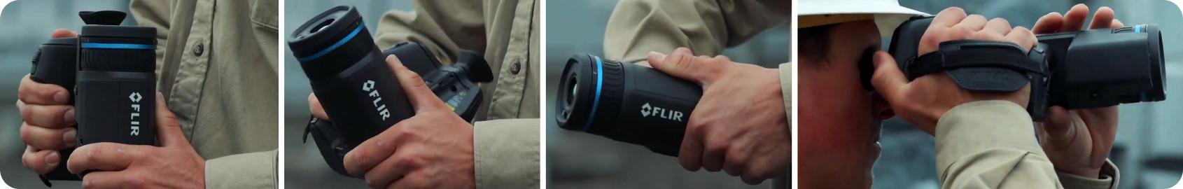Rotating optical block of the FLIR T865 Thermal Camera
