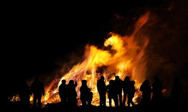 safe bonfire