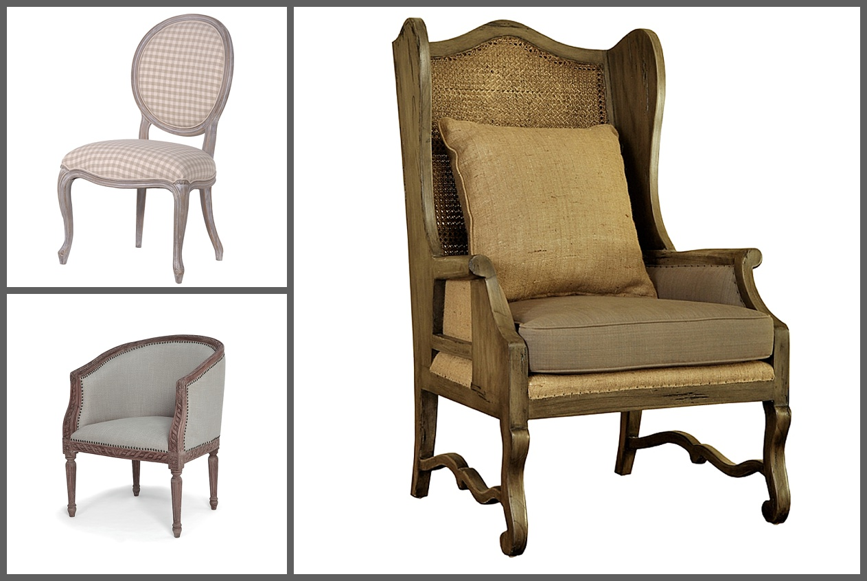A selection of elegant chairs