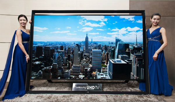 Samsung Unveils The Worlds Largest TV