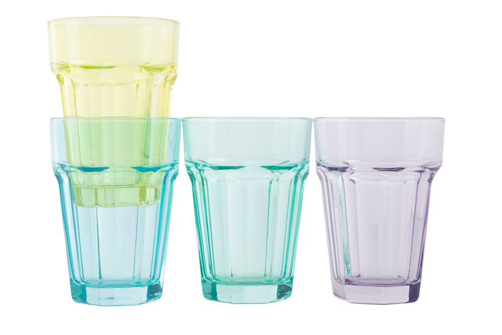 Tesco Soda Glasses