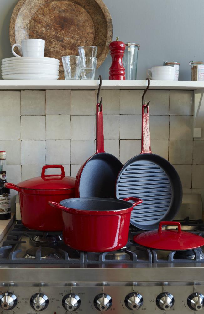 West Elm Market Enamel Cast Iron Cookware