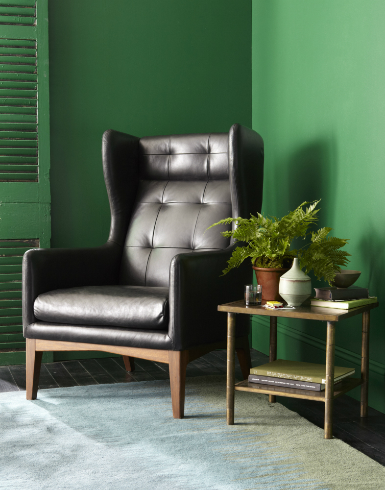 James Harrison Wing Chair (Leather)