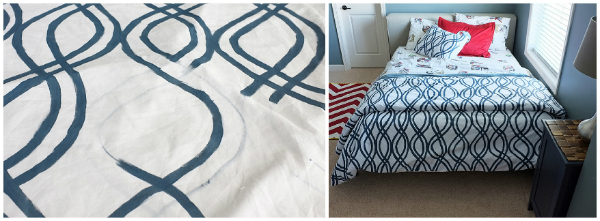 DIY Duvet Cover, 4Men1Lady
