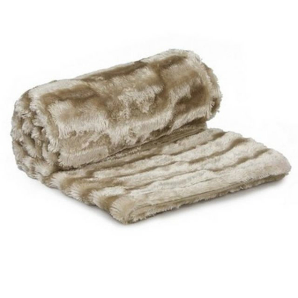 Luxury Super Soft Faux Cut Animal Fur Doe Deer Skin Throw Blanket, eBay
