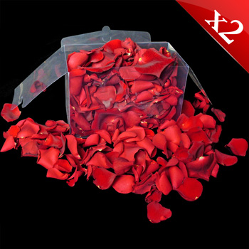 Freshly Picked Red Rose Petals - InterRose, £49.99