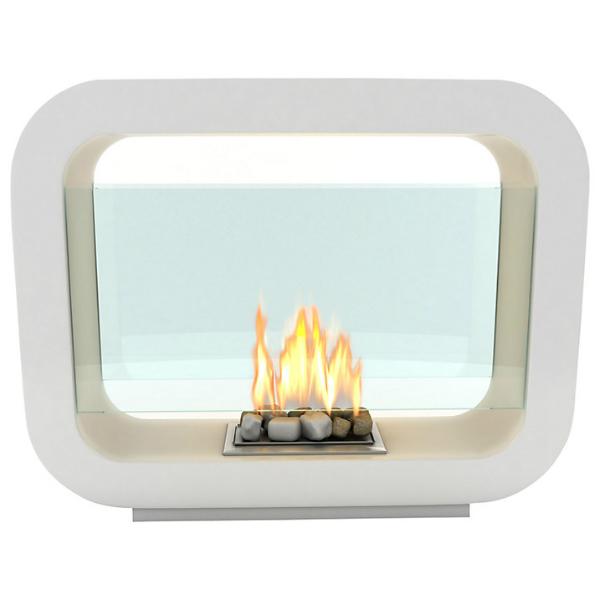Imagin Oblosk Bioethanol Fireplace, John Lewis