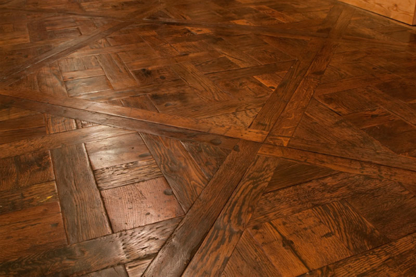 Reclaimed parquet flooring, Reclaimed