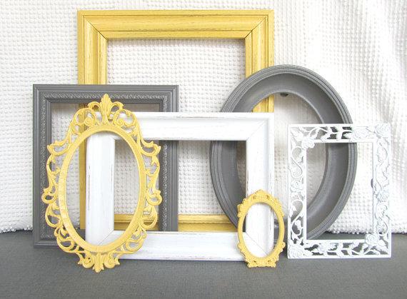 Upcycled Frames, Etsy