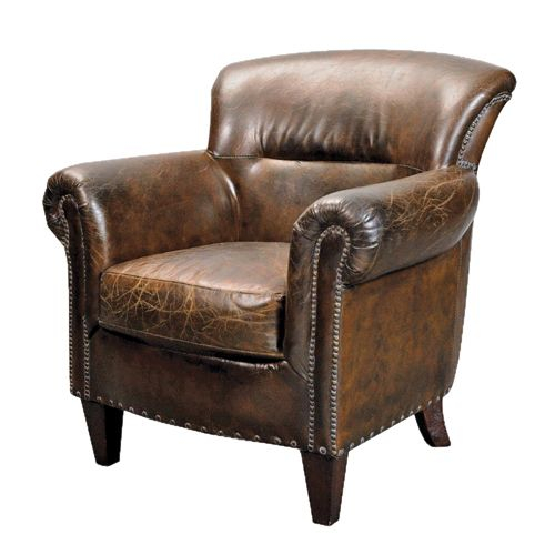Vintage Leather Armchair, Woodpecker Interiors
