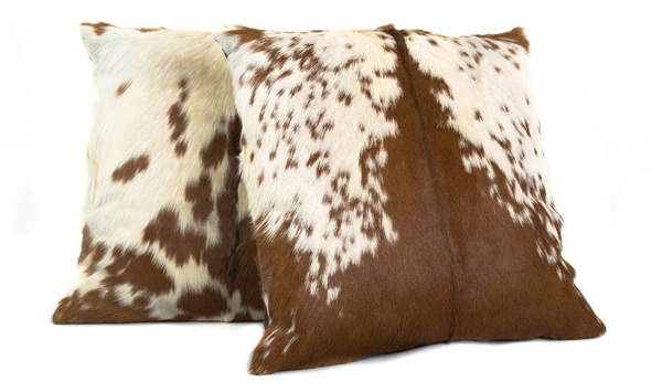 Cow Hide Scatter Cushions