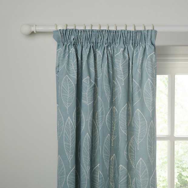 Aspen Leaf Curtains, John Lewis