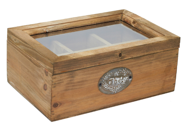 Storage box for tea, Boutique Provencale