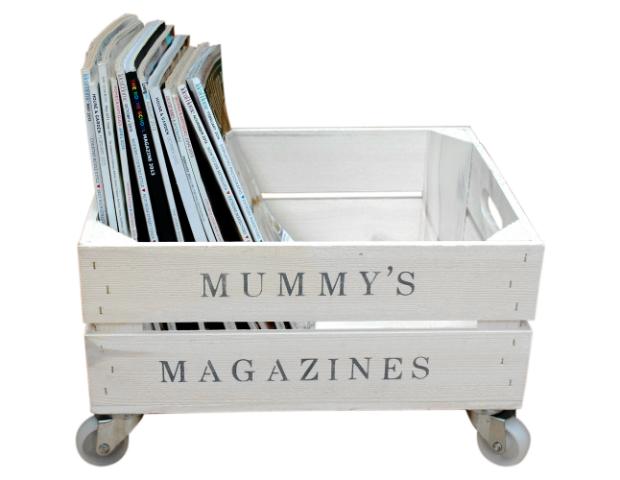 Mummy's Magazine Crate, Lovestruck Interiors
