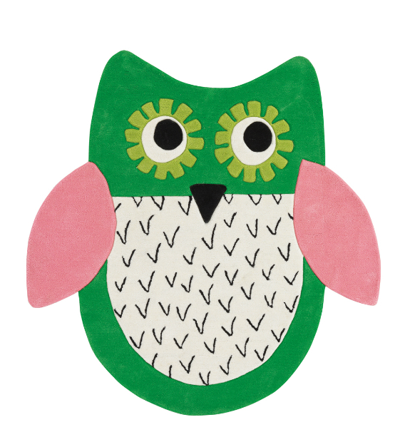 Little Owl Rug, Lux Deco