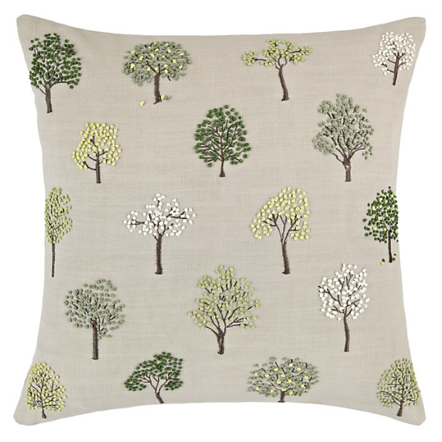 Mini Trees Cushion, John Lewis