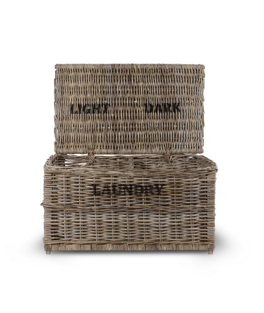Rattan Laundry Basket, Mobius Living