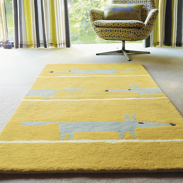 Scion Mr Fox Rug, John Lewis