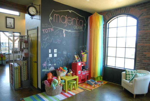 Playroom Wall, Eat Sleep Live