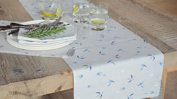 Swallow Table Runner - Sophie Allport