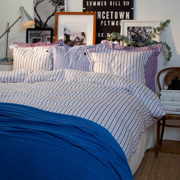 Gant Sailor Stripe Bedding, John Lewis £90.00 - £115.00