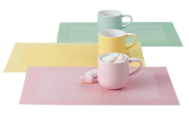 ASA Tabletop Pastel Placemat, Occa-Home £5.00