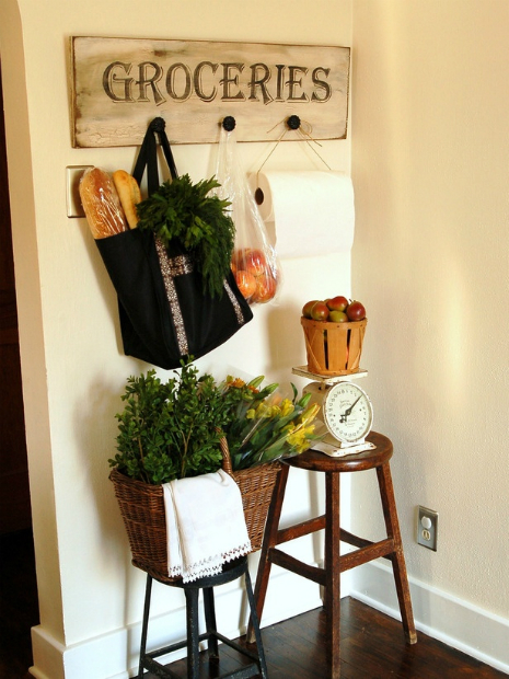 Groceries Wall Sign