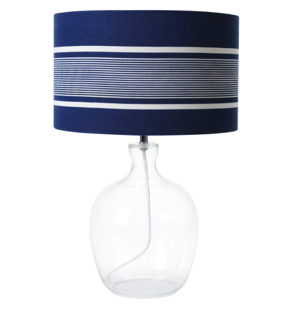 Beach Harbour Nautical Stripe Table Lamp, House of Fraser £95.00