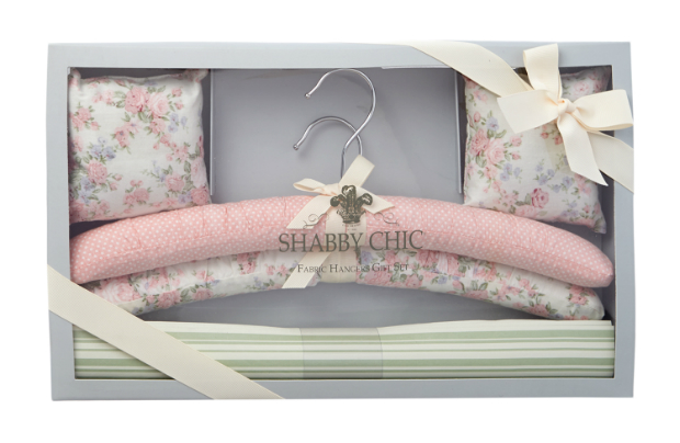 Shabby Chic Fabric Hangers, House of Fraser £20
