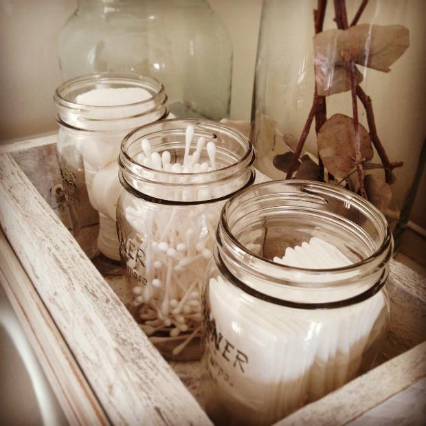 Vintage Kilner Storage Bathroom Jars, Lived and Loved £45.00