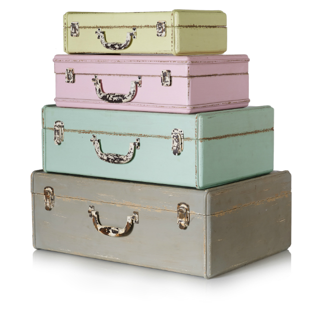 New Suitcase Storage Boxes, Oliver Bonas £30 - £75