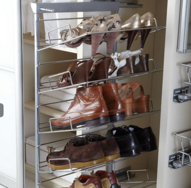 Five Tier Pull out Shoe Rack, Buller £83.99