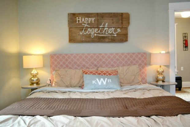 Happy Together Rustic Sign