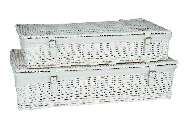 Willow Underbed Storage Baskets, Wovenhill £120.00